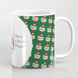 Merry Christmas Mouse Coffee Mug
