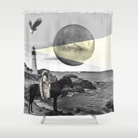 lighthouse Shower Curtains featuring Lighthouse by •ntpl•