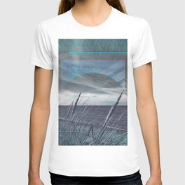 Before the Storm - blue graphic T-shirt