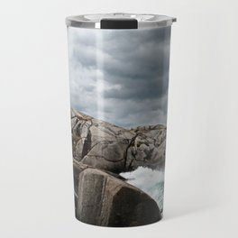 Peggy's Cove Light House -- Nova Scotia Travel Mug