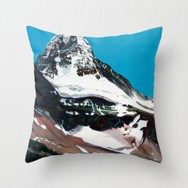 Mt. Assiniboine Throw Pillow