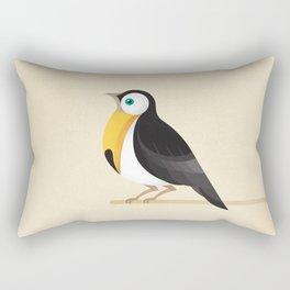 A Robin or a Toucan Bird? Rectangular Pillow