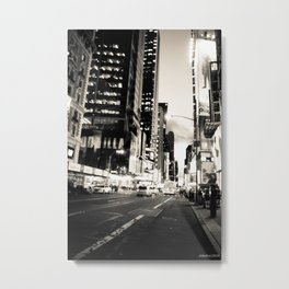 Broadway Avenue Metal Print