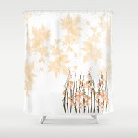 Flowers in Paradise Shower Curtain