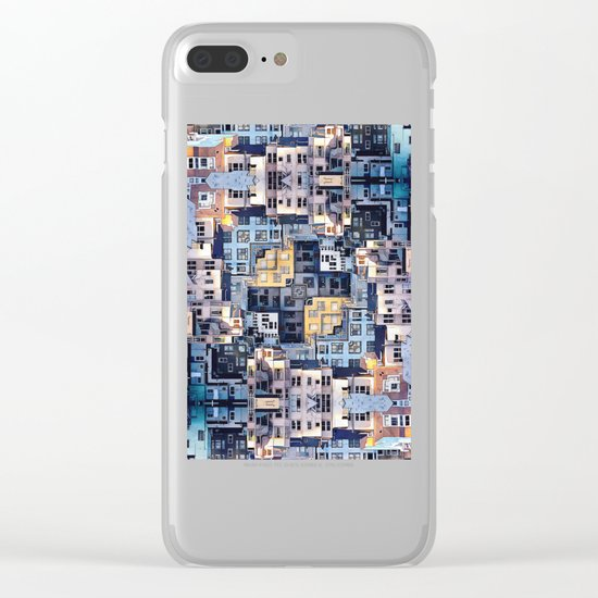 Community of Cubicles Clear iPhone Case