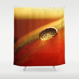 warm feeling Shower Curtain