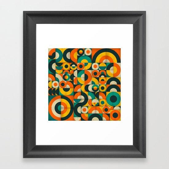 CONTROL PANEL #2 Framed Art Print