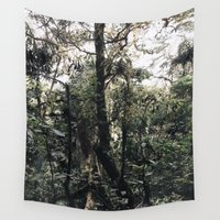 jungle Wall Tapestries featuring Jungle by Ryo Ruiz