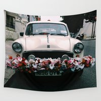 cuba Wall Tapestries featuring cuba by Love Improchori