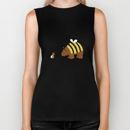 where is my honey? Biker Tank