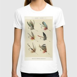 Lake Flies from Favorite Flies and Their Histories by Mary Orvis Marbury T-shirt