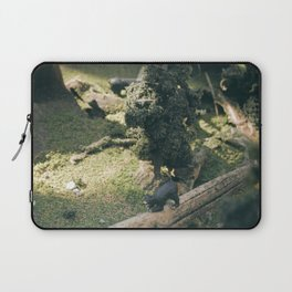Temporary Happiness part 2 bear Laptop Sleeve