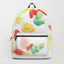 170722 Colour Loving 24 |Modern Watercolor Art | Abstract Watercolors Backpack