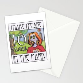 Shakespeare in the Park 10 year Anniversary Stationery Cards