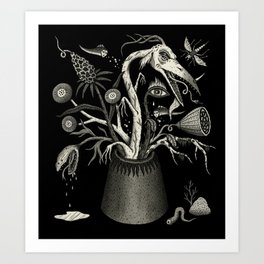 Fierce Bouquet Art Print