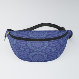 Lace in Blue Fanny Pack
