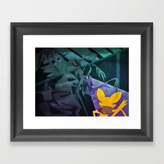 Ash Golumn Framed Art Print
