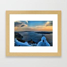 Santorini 10 Framed Art Print