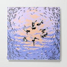 asc 867 - Les chants de l'aube (Hole in the sky) Metal Print