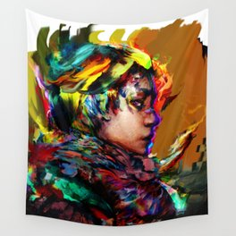 colorful one Wall Tapestry