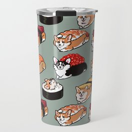 Sushi  Corgi Travel Mug