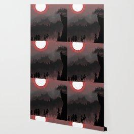 Hunters Moon/Dark Forest Wallpaper