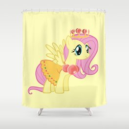 Princess Fluttershy Lolly Shower Curtain