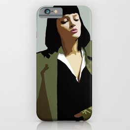 MISS WALLACE iPhone Case