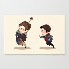 Sammy's Angels (Supernatural) Canvas Print