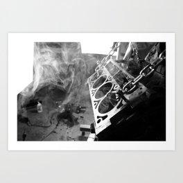 The man cave Art Print