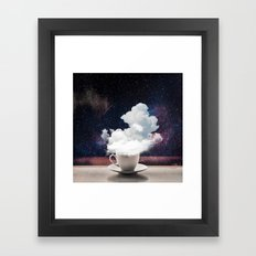 Coffee for Dreamers Framed Art Print