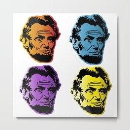 Abraham Lincoln Love Metal Print