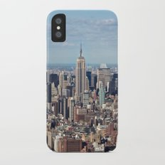Empire State Building iPhone X Slim Case