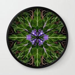 Mandrake Garden Design Wall Clock