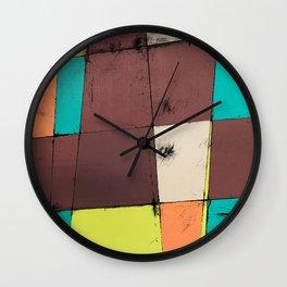 Hot Air Balloon II Wall Clock