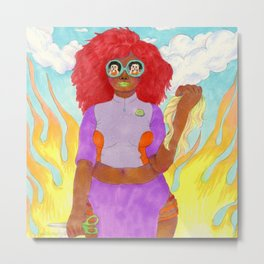 Snatched Metal Print
