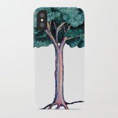 Spiral Tree iPhone X Slim Case