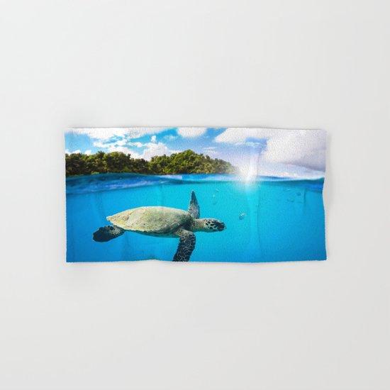 Tropical Paradise Hand & Bath Towel