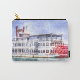 New Orleans Paddle Steamer Art Carry-All Pouch