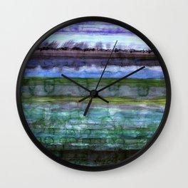 Wetland Wall Clock