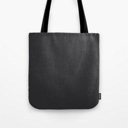 Jet Black Tote Bag