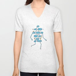 doubts and fears and hopes and dreams Unisex V-Neck