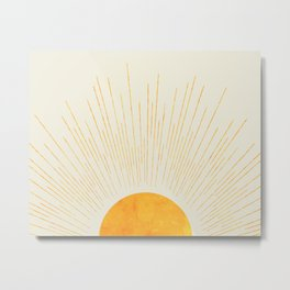 Boho Sunrise  Metal Print