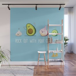 Rock Out With Your Guac Out Wall Mural
