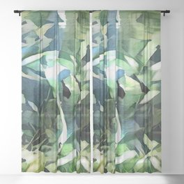 Dream the Impossible Dream Sheer Curtain