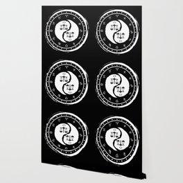 Libra Yin Yang Seventh Zodiac Sign Wallpaper