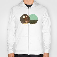 Boring by The Sea   Collage Hoody