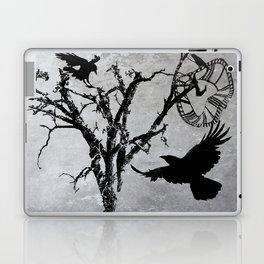 Melting Time II A534 Laptop & iPad Skin