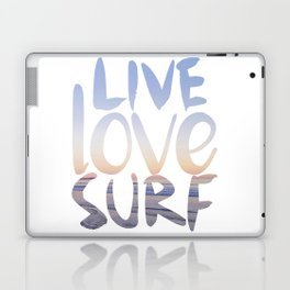 Live Love Surf Laptop & iPad Skin