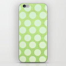 Linden Green Dots iPhone & iPod Skin